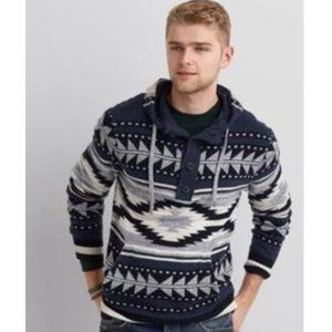 AMERICAN Eagle Baja sweater Crew Neck Pullover
